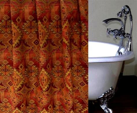 southwest design shower curtains 97 best images about southwest bathroom on pinterest