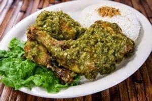 resep ayam goreng penyet sambal ijo pedas resep nasional