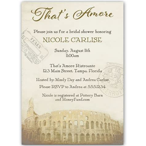 italian themed bridal shower invitations that s chocolate bridal shower invitation the o