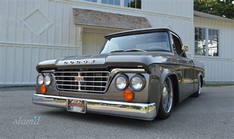 1965 dodge truck kirby wilcox s 1965 dodge d 100 box sweptline