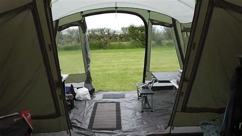 outwell montana 6 awning outwell montana 6 with awning walkthrough youtube