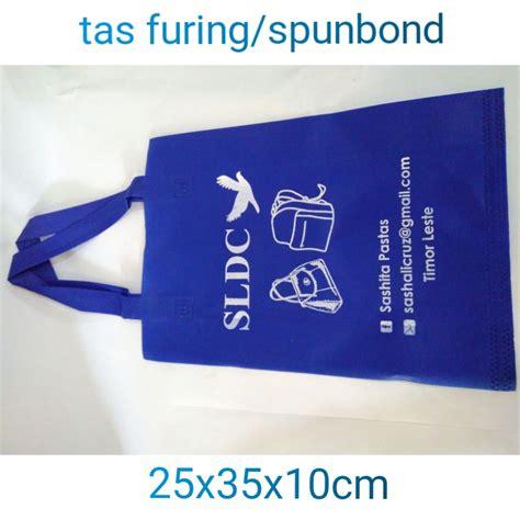 Jual Kain Spunbond Gresik jasa cetak tas kain furing spunbond murah pusat cetak