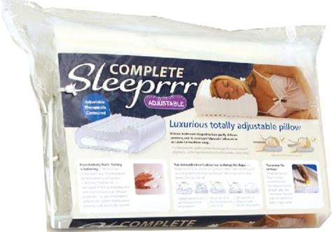 Complete Sleeper Pillow by Neck Pillow Complete Sleeprrr Osteopathic Services