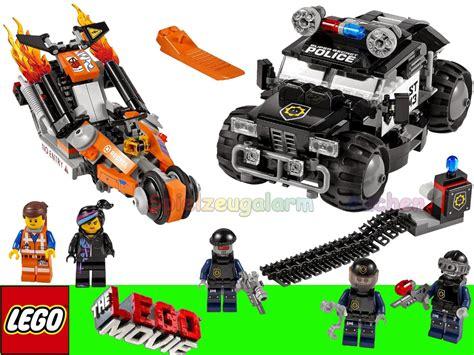 film robot policier lego 70808 movie superbike verfolgungsrennen super cycle