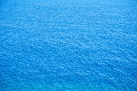 best blue top view of calm blue sea photo free download