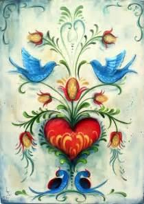 Folk art painting on canvas the vintage folk painter folk art