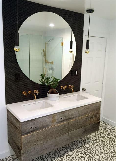 round mirror in bathroom best 25 penny round tiles ideas on pinterest modern