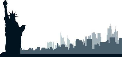 New York Skyline Clipart Free Clipartsgram