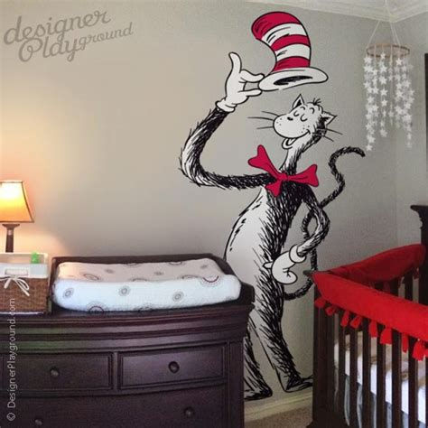 cat in the hat wall stickers dr seuss nursery wall decals thenurseries