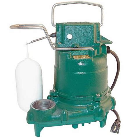 Mighty Plumbing by Zoeller M53 Mighty Mate Submersible Sump 1 3 Hp Ebay
