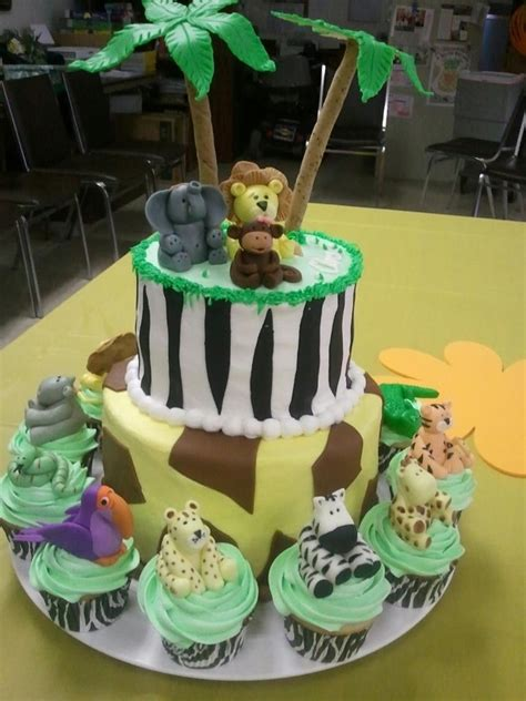 Safari Baby Shower by Jungle Safari Baby Shower Cakecentral