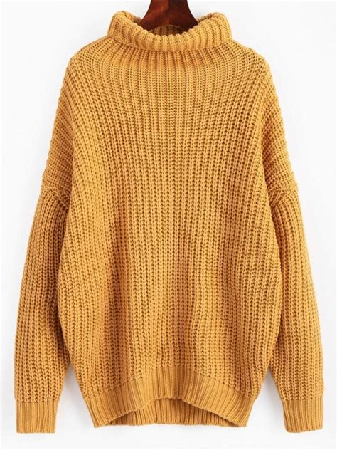 Hooded Chunky Sweater Yellow chunky yellow sweater baggage clothing