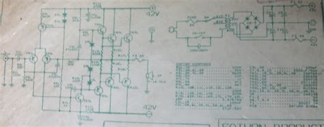 Ocl Power 50 watt power audio lifier schematic design