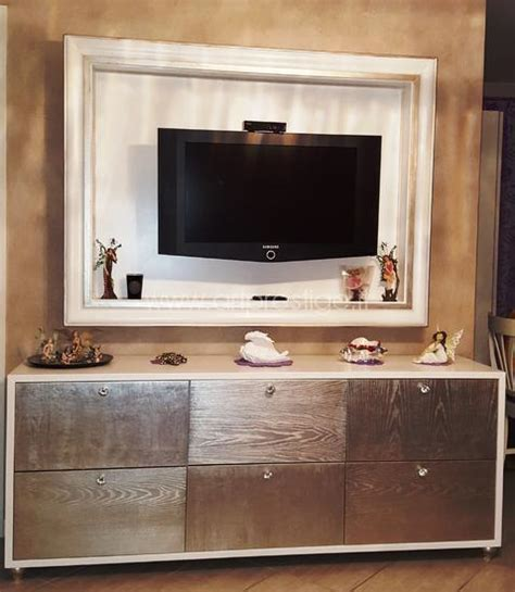 cornici tv credenza e cornice porta tv prestige luxury furniture