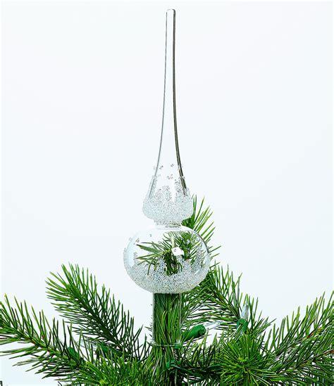swarovski crystal glass christmas tree topper dillards