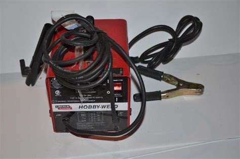 lincoln hobby welder lincoln electric hobby weld welder 110 volts