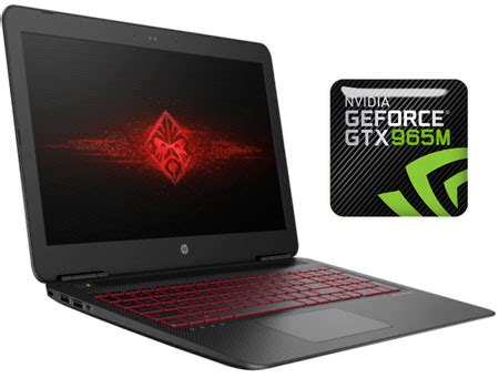 hp omen 15 ax001ne gaming laptop intel core i7 6700, 15