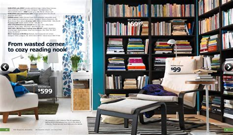 reading space ideas ikea 2011 catalog full