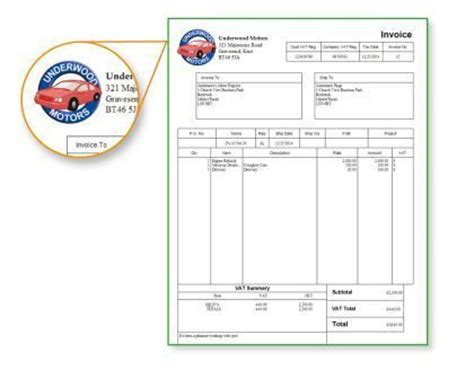 hmrc invoice template printable invoice template