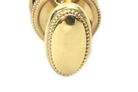 Gilded Door Knob by Gilded Lever Knob Set Olde Things