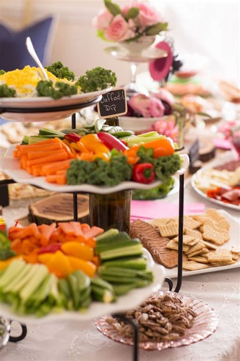 Bridal Shower Food Ideas by Simple Wedding Shower Food Ideas Food And Drink