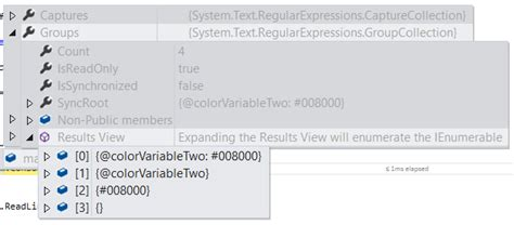 yaml pattern matching regex don t capture the group after matching properly c