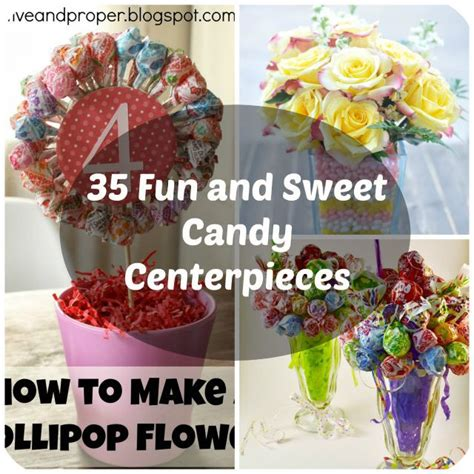 how to do a christmas candy sunday centerpiece 35 sweet centerpiece ideas for