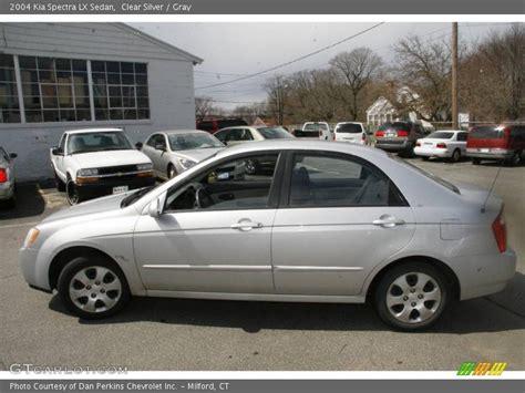 2004 Kia Spectra Lx 2004 Kia Spectra Lx Sedan In Clear Silver Photo No