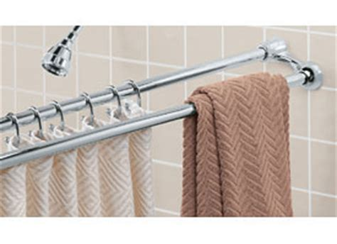 shower curtain rod with towel bar shower curtain rod and towel rack chrome in shower rods