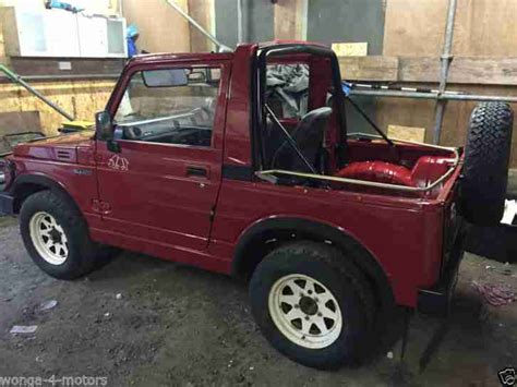 how do cars engines work 1987 suzuki sj interior suzuki sj410 1987 barn find car for sale