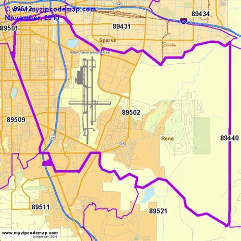 zip code map reno zip code map of 89502 demographic profile residential