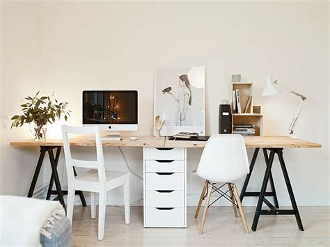 Ikea Cabinet Desk ikea trestle table file cabinet desk office