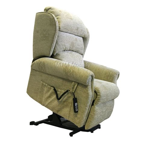 Electric Recliner Chairs with Electric Riser Recliner Chair Swindon Regent Waterfall Back Chair