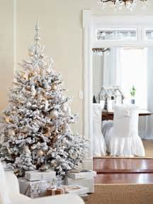 tree silver white: christmas tree decorations blue silver white  exciting silver and