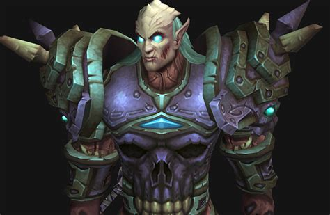 wow dk hair color new death knight models wow