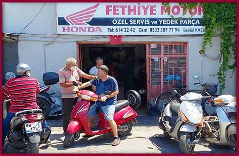 fethiye motor honda motosiklet tamircisi fethiye ve