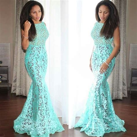 Ankara African Dress With Lace | african lace dresses oasis amor fashion