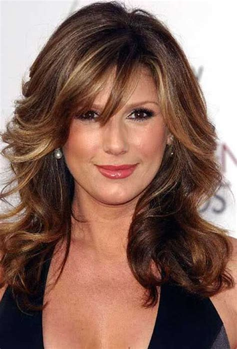 hairstyles for the average woman hairstyles for women over 50 wavy volume long hairstyles