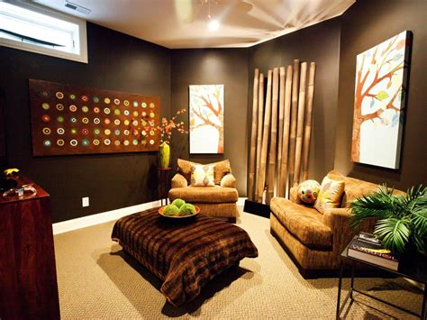 decorated rooms media room decor pictures options tips ideas hgtv