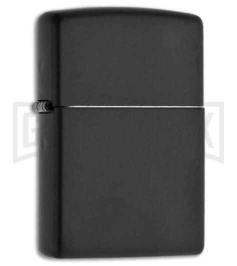 Zippo Lighter Matte zippo lighter black matte bladeplay