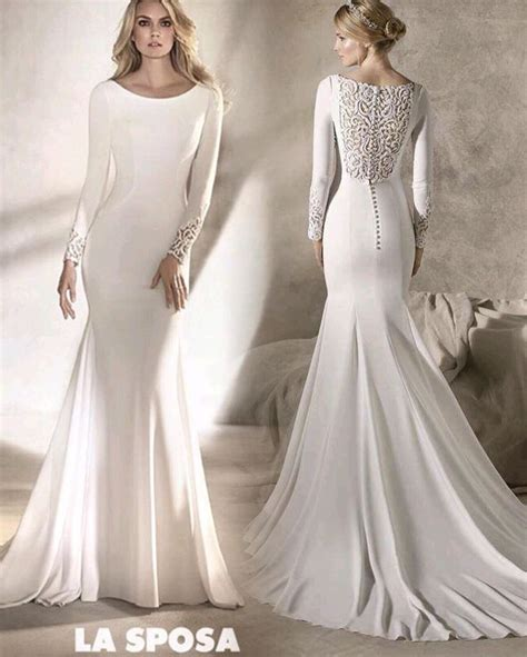 Plain Wedding Dresses by Simple White Wedding Dresses With Sleeves Great Ideas