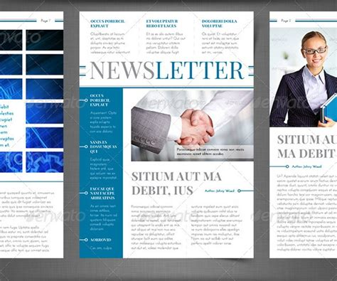 how to design a newsletter template best newsletter design for print 56pixels
