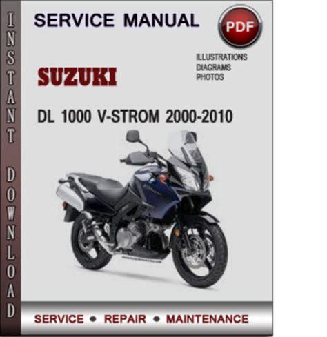 suzuki dl1000 v strom factory service repair manual pdf pdfsr com suzuki dl 1000 v strom 2000 2010 factory service repair manual down