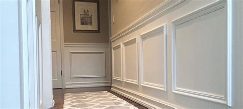 Raised Panel Wall Ideas Dominion Wainscoting Crown Moulding Coffered Ceiling