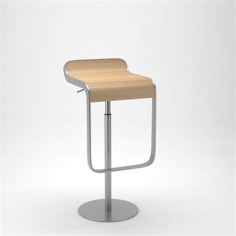 lem bar stool lapalma lem bar stool by formd 3docean