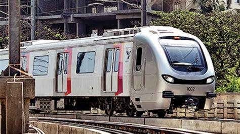 kochi metro receives  set    india coaches  alstom transport