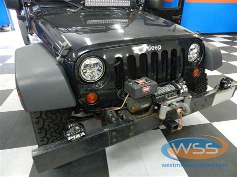 Jeep Jk Headlight Upgrade Wrangler Headlight Upgrade 1 Wss Drive Easy