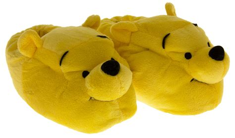 pooh slippers boys disney novelty slippers winnie the pooh