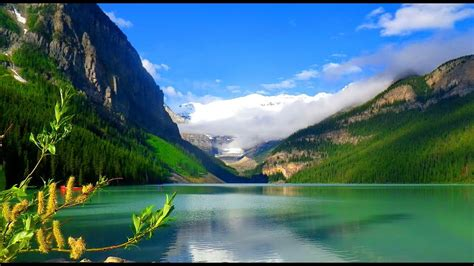 beautiful places   lake louise alberta canada youtube