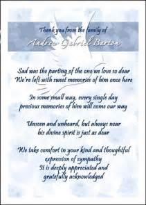 find helpful bereavement card wording sles
